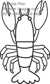 Small Picture Lobster Coloring Page Royalty Free Clip Art Picture