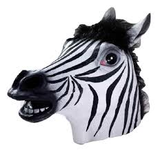 Animal Eye Size Chart Details About Deluxe Zebra Mask Latex Zoo Animal Halloween Costume Adult Accessory Prop