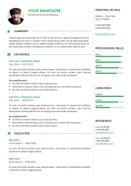 Professional Resume Template Free Cool Gastown60 Free Professional Resume Template