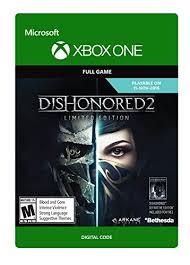 Dishonored 2 Xbox One Digital Code B01gw3ozdq Amazon