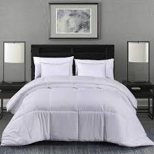 bedroom fun. Bedroom Fun Items. MANZOO Queen Comforter Duvet Insert White - Quilted With Corner Tabs Hypoallergenic, Plush C