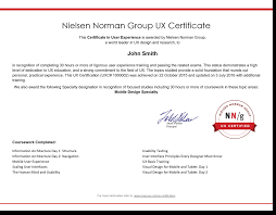 Benefits Of Ux Certification Nielsen Norman Group
