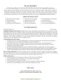 Best Retail Store Manager Resume India Management Resume Summary