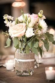 ... Mason Jar And Burlap Wedding Decorations Burlap And Lace Mason Jar  Centerpieces Mason Jar And Burlap ...