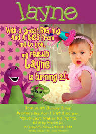 barney party invitation template 24 best barney themed birthday images on pinterest barney party