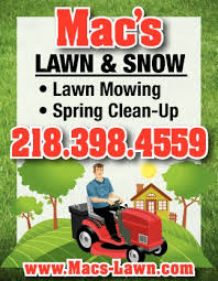 Lawn Mowing Ads Lawn Mowing Macs Lawn And Snow