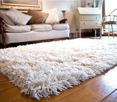 cream pile rug brown rug big fluffy area rugs plush white rug deep pile