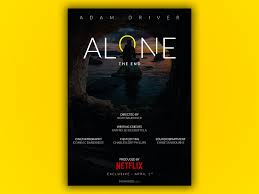 ALONE - FILM POSTER by Mohaned Khaled on Dribbble