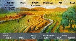 A Chart Of Israelite Annual Festivals Grace Communion