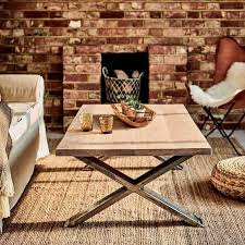 x frame oak coffee table sustainable