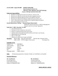 Heavy Duty Mechanic Resume Sample Under Fontanacountryinn Com