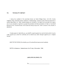 Terminate A Lease Letter Breaking Lease Letter Template