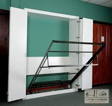 diy wall bed. Murphy-bed-open1 Diy Wall Bed