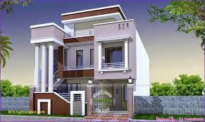 lovely 3 bedroom duplex house design plans india home design