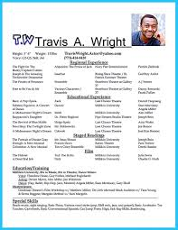 Outstanding Acting Resume Sample To Get Job Soon