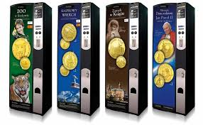 Coin Vending Machine Inspiration Souvenir Coins Vending Machines Golden World Souvenirs