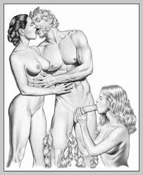 Threesome Positions Drawings