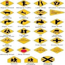 Nc Dmv Road Signs Chart 2019 License Renewal North Carolina Nc Dmv Road Signs Chart