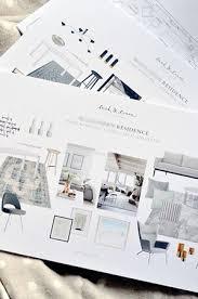 interior design portfolios how to make