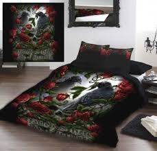 Gothic Duvet Covers and Gothic Bedding & She Black Dragon, Sorrow For The Lost Double Duvet, Forevermore (US Full  Size Adamdwight.com