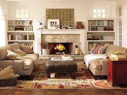 Pottery Barn Wall Shelves Luxurious Pottery Barn Living Room To Support The Conversation