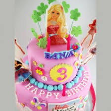 Barbie Doll Cake Order Barbie Birthday Cakes Online In Bangalore