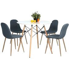 round table for office modern leisure wooden tea table office dining table white vogue officeworks table round table