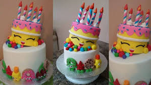 Shopkins Cake Ideas Birthday Decorations Images Decorating Supplies
