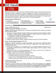 cto resume sample