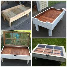 pallet furniture coffee table. diy wood pallet window coffee table furniture h