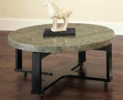 round granite coffee table awesome round granite coffee table with black iron legs plus pertaining to