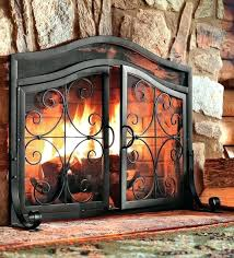 fireplace screens how to make a barn door style screen lone star decorative uk