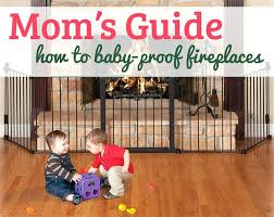 baby proofing how to proof your fireplace cushion
