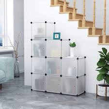 Design Ideas Squish Drawer Stores C Ahome Cube Storage Organizer 9 Cube Plastic Closet Cabinet Modular Book Shelf Organizer Units Storage Shelving With Doors Ideal For Bedroom