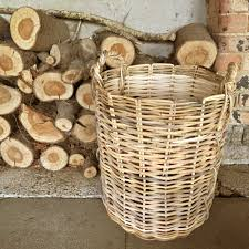 Large wicker basket Rectangular Largebasketw1000x1000jpg Wildash London Large Wicker Basket