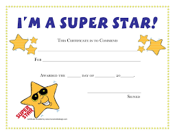Kids Award Certificate Award Certificate Templates For Kids Aesthetecurator Com