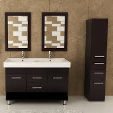bathroom cabinets double sink. Rigel 48\ Bathroom Cabinets Double Sink