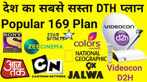 Videocon D2h Monthly Recharge Chart Videocon D2h 169 Pack Plan Videocon D2h 169 Pack Channel List