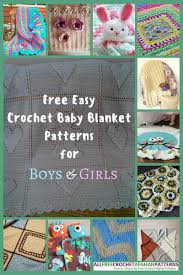 Baby Boy Crochet Blanket Patterns