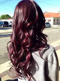 Beautiful Burgundy Hair What Is The