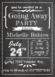 Farewell Party Invitation Template Kosmodisk Info