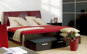 modern bedroom black and red. Fine Modern To Modern Bedroom Black And Red C