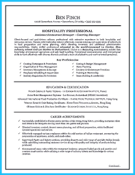 Baker Resume Sample Nice Excellent Culinary Resume Samples To Help You Approved Check 20