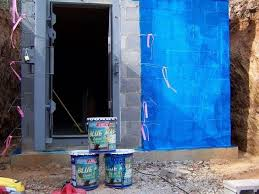 ames blue max. Interesting Blue This Installer Used Ames Blue Max Liquid Rubber To Seal The Outside Of  Shelter To A