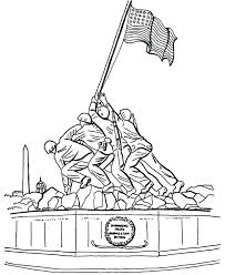 Veterans Day Coloring Page Coloring Pages For Veterans Day