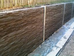 37 photos gallery of building your concrete retaining wall