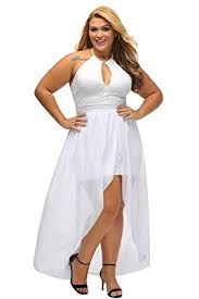 cheap plus size white dresses lalagen womens plus size halter white lace wedding party dress maxi