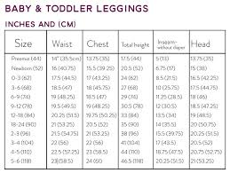 Preemie Size Chart Baby Leggings Size Chart Hipster Baby Clothes Baby Harem