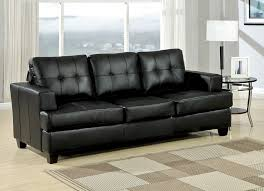 black leather couches.  Black For Black Leather Couches
