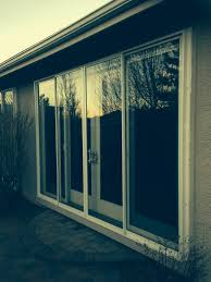 exterior mounted sliding glass doors